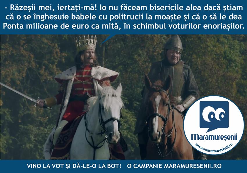 Vino la vot, varianta Maramuresenii.ro