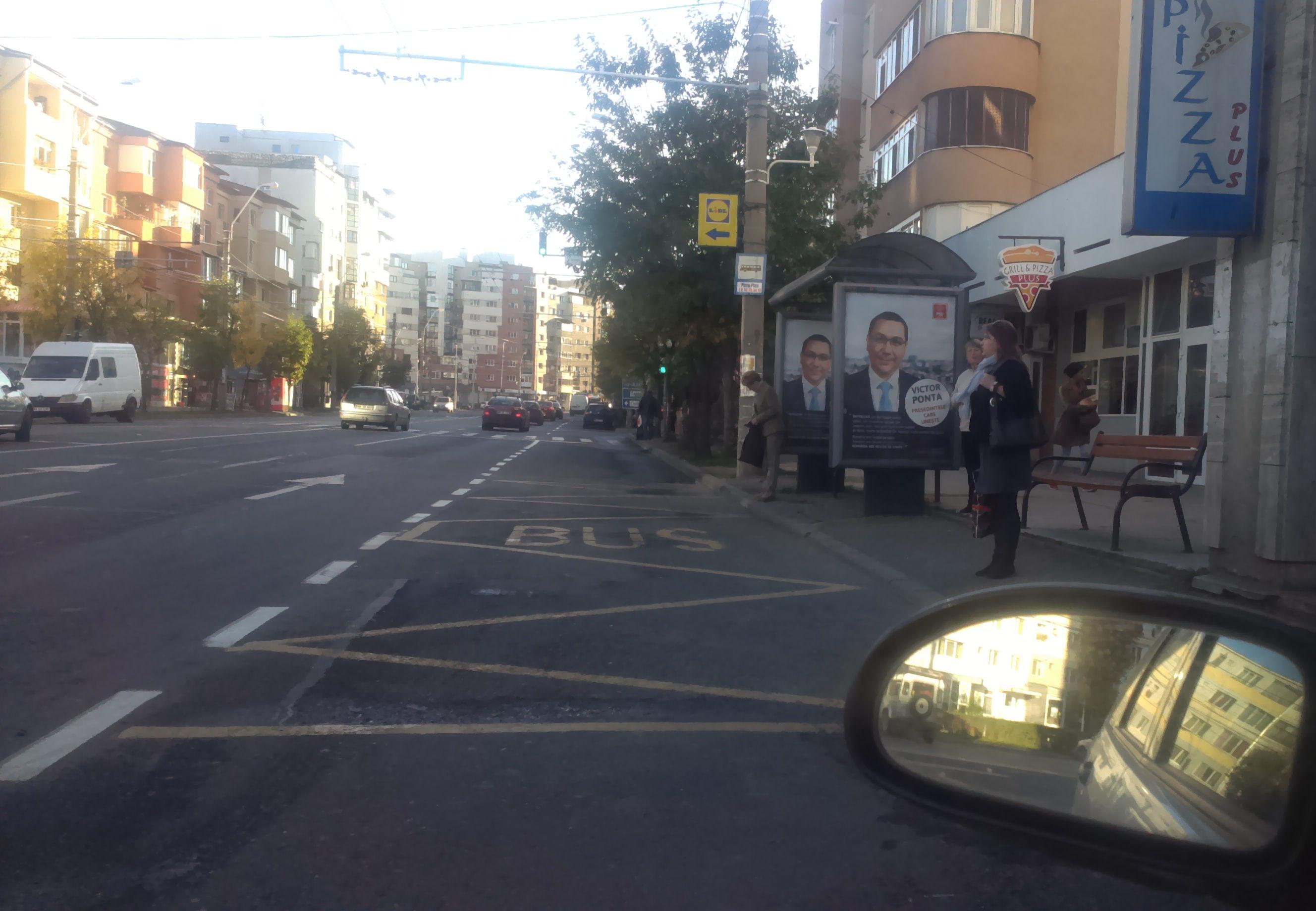 Prea mult Ponta in oras!