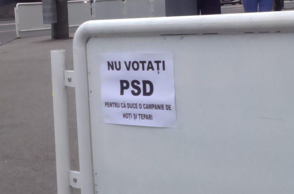 Cineva s-a fript cu PSD