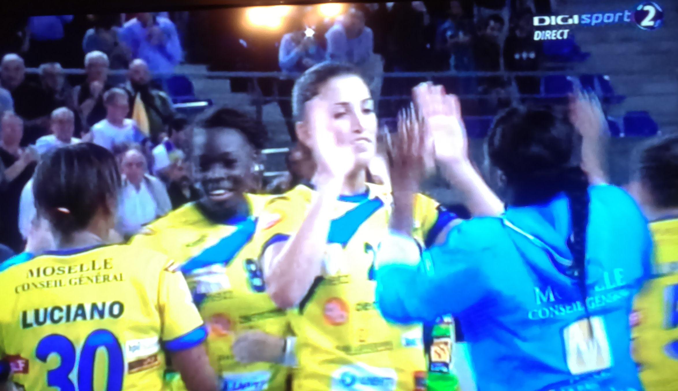 Cosmar la Metz: HCM pierde la 10 goluri