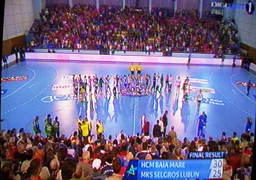 HCM Baia Mare a debutat cu victorie in noua editie a Ligii Campionilor