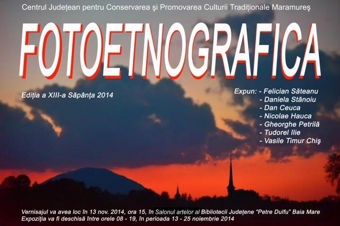 """La Biblioteca Județeană """"Petre Dulfu"""" se desfășoară expoziția Fotoetnografică"""