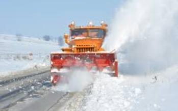 Autoritățile promit că vom avea șosele deszăpezite în Maramureș
