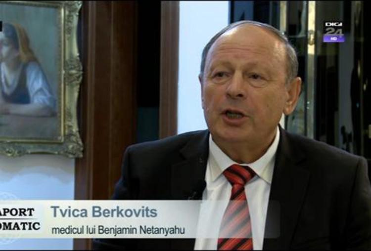 Un maramureșean are grijă de sănătatea lui Netanyahu