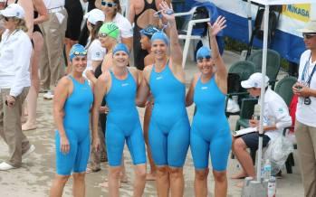 22 de medalii de aur obținute de înotătorii băimăreni la Cupa Euroregiunii DKMT