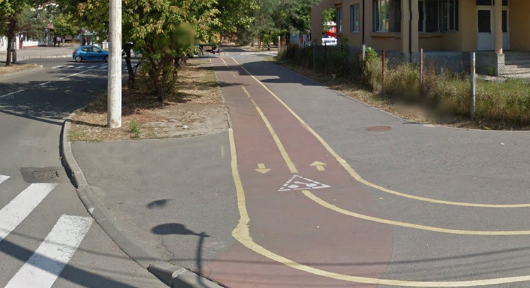 pista bicicleta