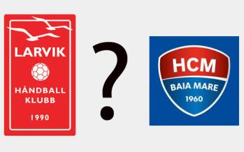 """Dăm un prânz """"La Băcănie"""" pentru cel mai bun pronostic la meciul Larvik – HCM Baia Mare"""