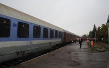 S-a anulat un tren pe ruta Baia Mare – Cluj Napoca în data de 30 noiembrie