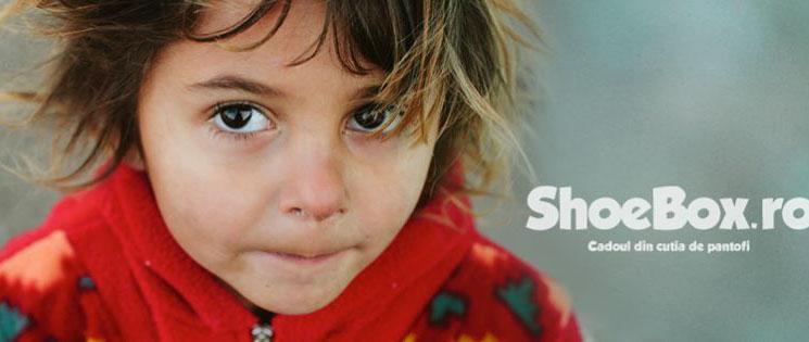 A început Campania ShoeBox 2014, ediția a 8-a