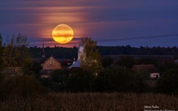 Lună plină de octombrie