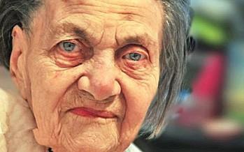Klara Markus a supraviețuit Holocaustului, trăiește în Sighet și a împlinit 101 ani