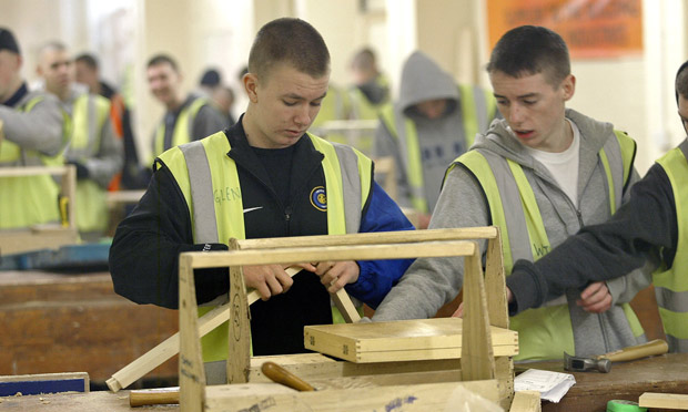 carpentry young people