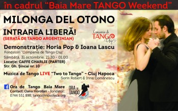Week-end fierbinte de tango, la Baia Mare