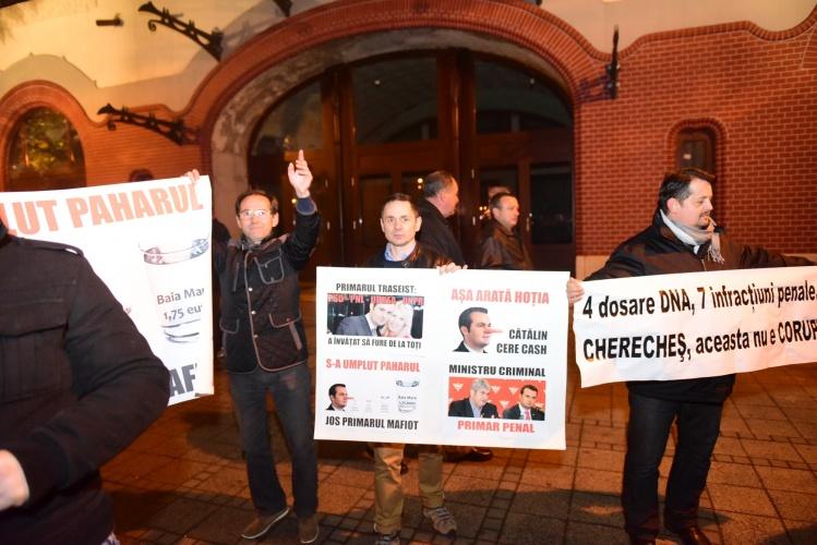 Cronica unei demonstrații anunțate și manipulate