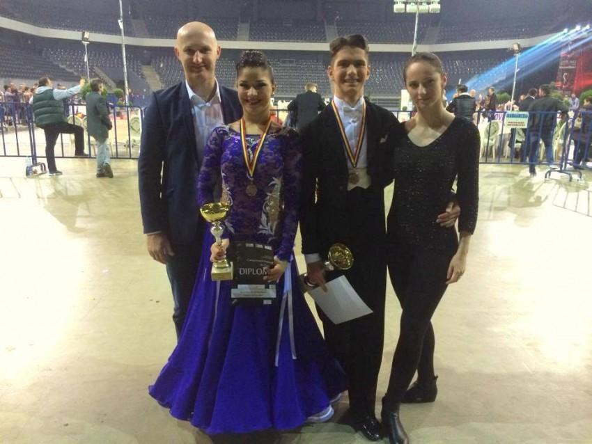 Emanuel Moraru & Roberta Horvath - Bronz - Campionatul National de Clase