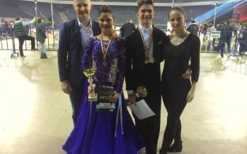Dansatorii băimăreni Emanuel și Roberta, un loc 1 în Italia și un seminar cu campioni mondiali