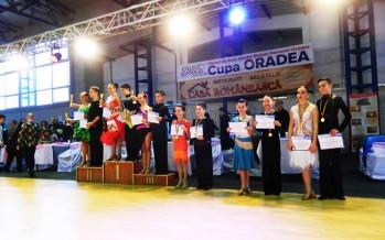 Activitate intensă la Prodance: finale la Cupa Oradea, o pereche la Campionatul Național și o invitație la dans pentru… părinți