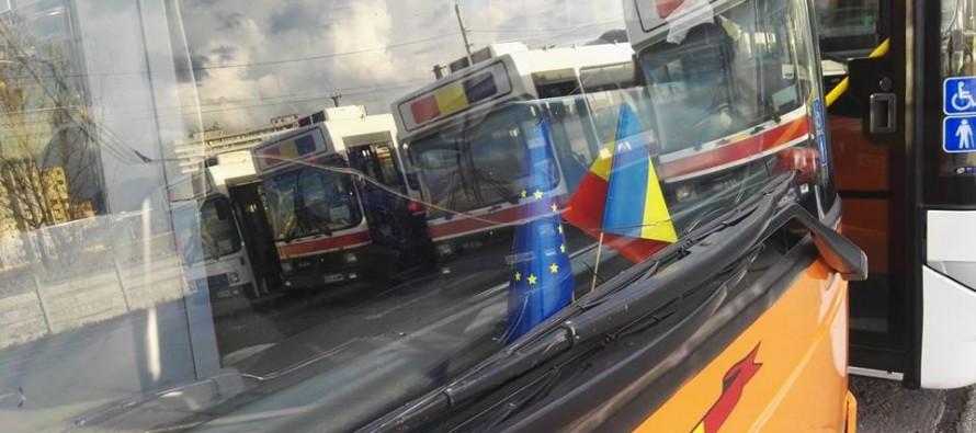 Criza de la Urbis continuă: autobuzele circulă ilegal cu parbrizele sparte, iar șoferii pregătesc noi proteste