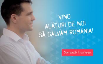 Ajută USR Maramureș să strângă semnăturile. Hai să schimbăm România!