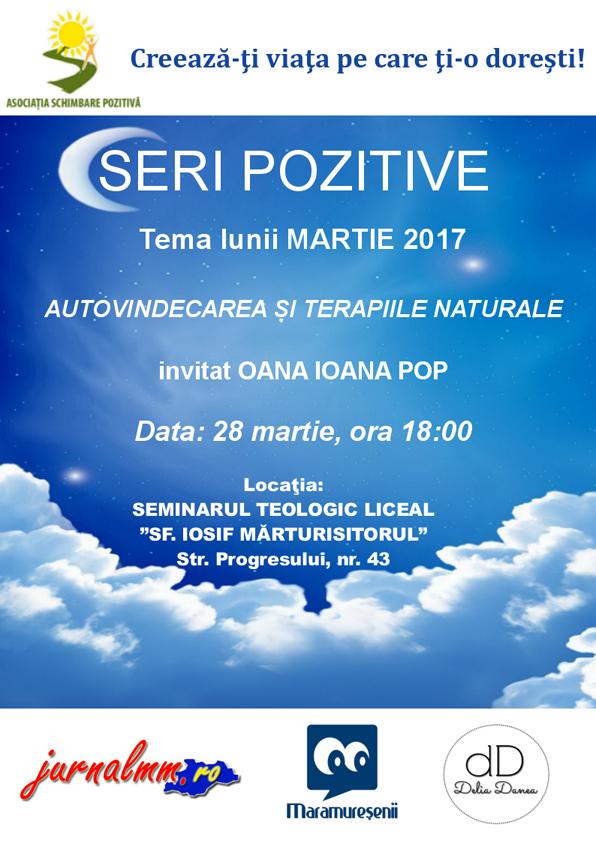 Seri pozitive martie Baia Mare