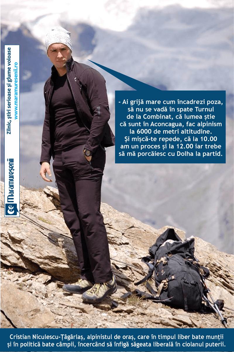 Alpinistul de oras, care niciodata nu a atins varful. Varful puterii.