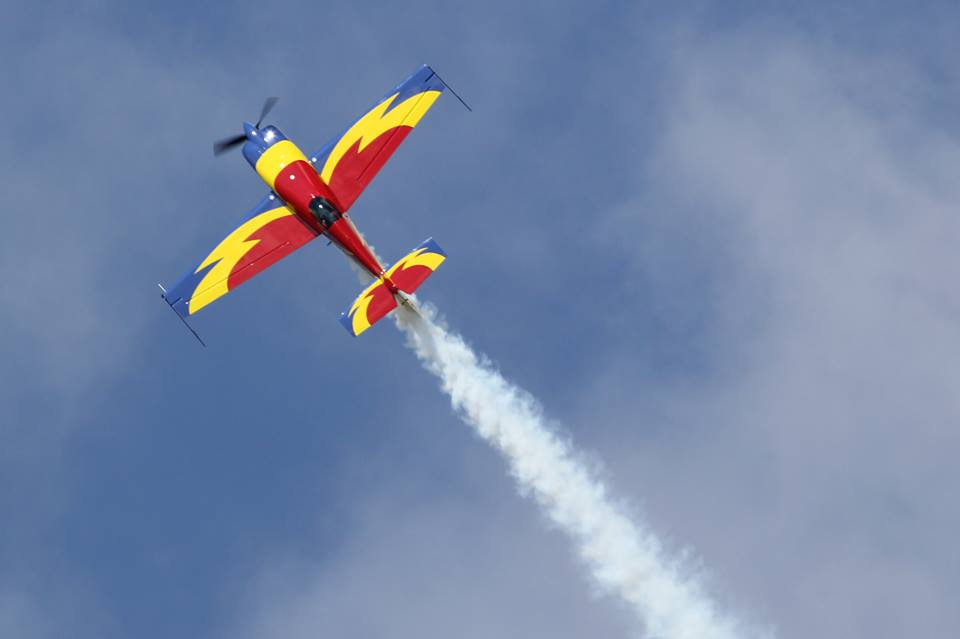 Miting aviatic pe aeroportul din Baia Mare