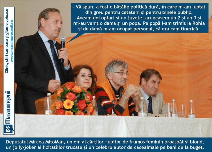 Mircea Man, specialist in cacealmale inca de pe vremea FSN