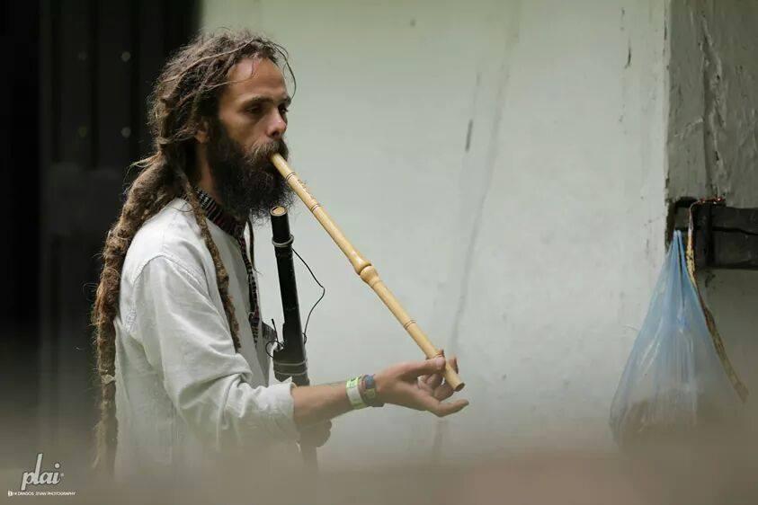 instrumente muzicale drum'n flute04