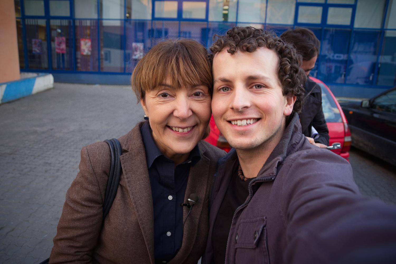 De ce mi-am facut Selfie cu Monica Macovei