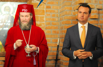 Iustin Pesedeanul, Episcopul Roșu