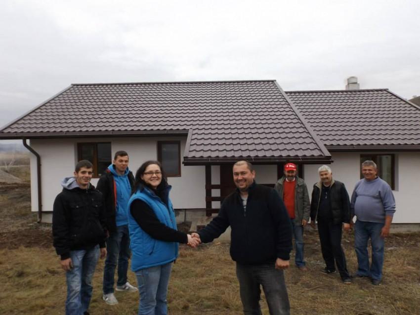 Predarea casei la exterior