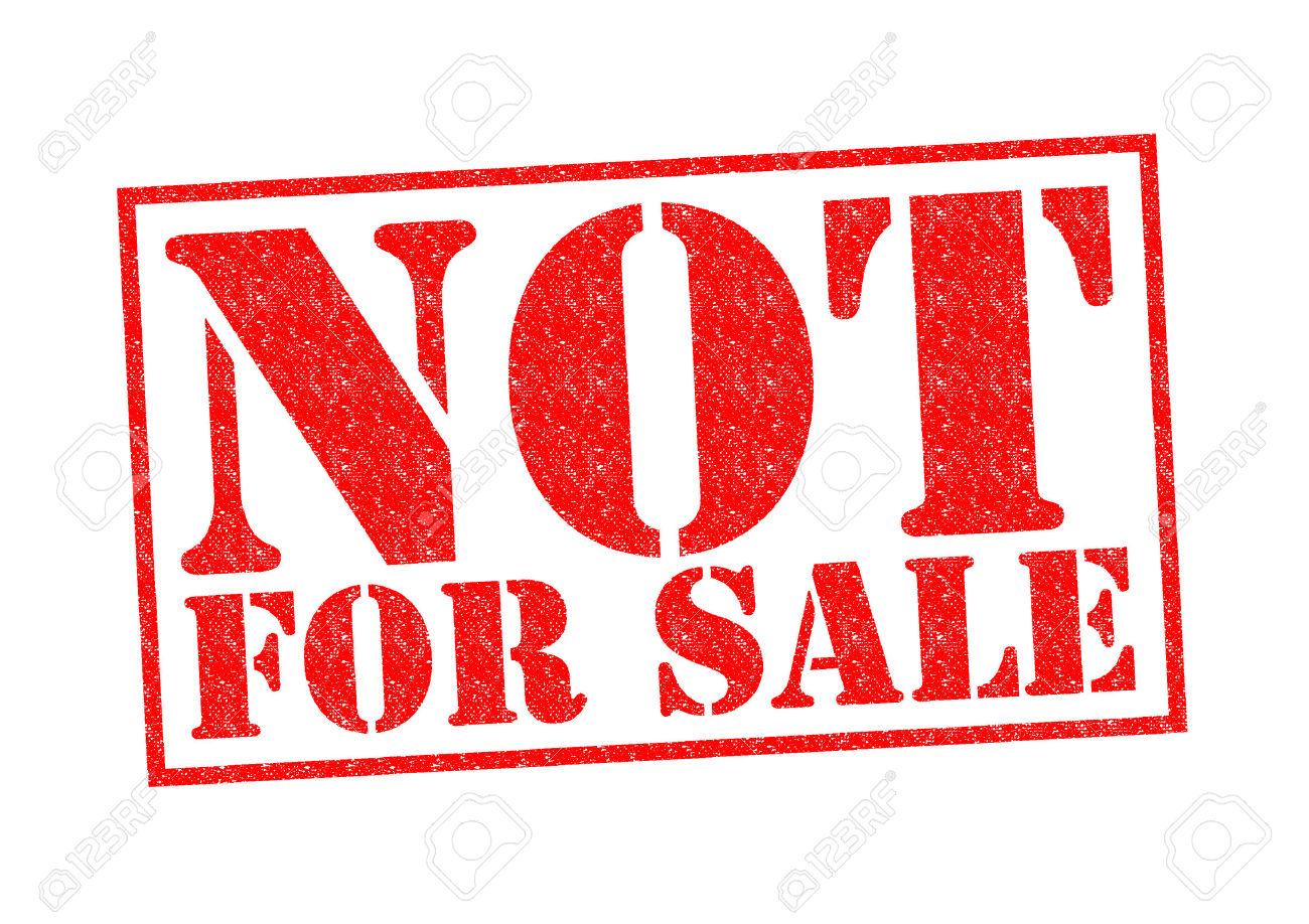 Nu suntem de vânzare.
