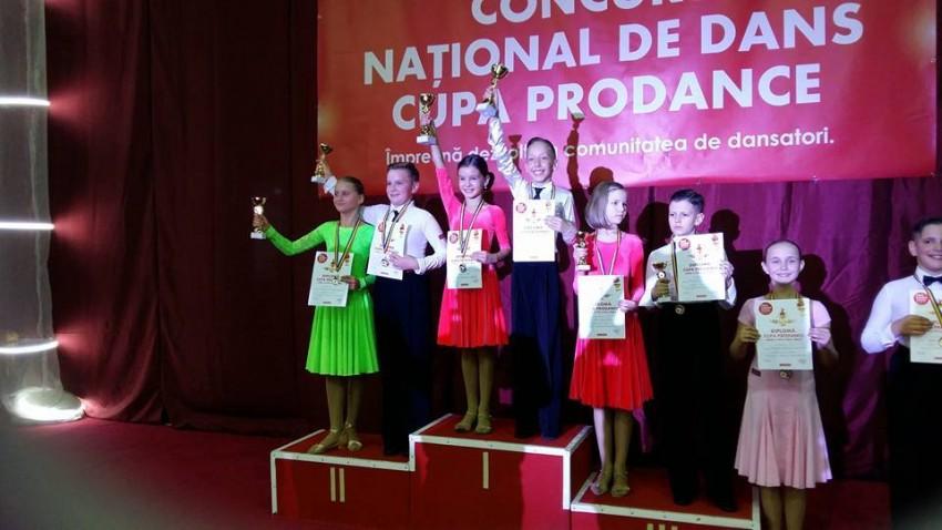 Cupa Prodance - Darius Frincau & Teodora Trufan loc I, Sebastian Silaghi & Dalia Barbos loc II