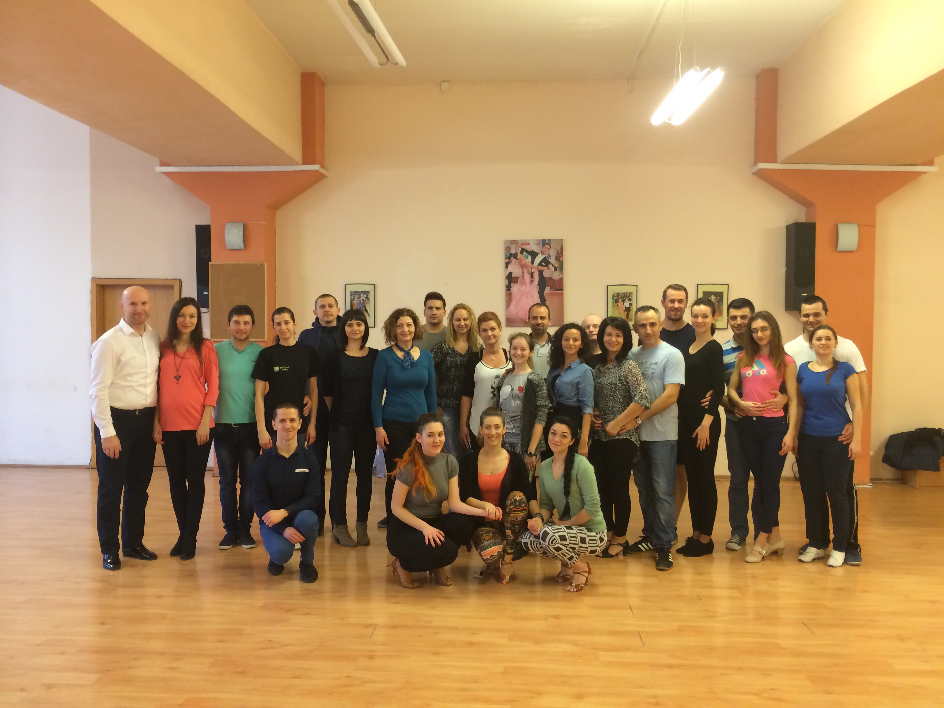 Super-workshop de dansuri latino la Prodance