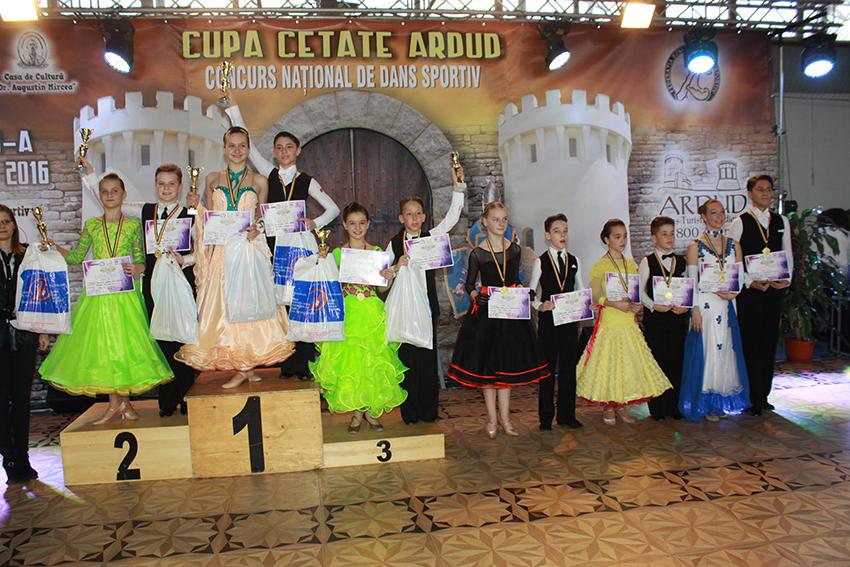 Prodance 2000 Baia Mare: 16 perechi în finale și 7 medalii laCupa Cetate Ardud